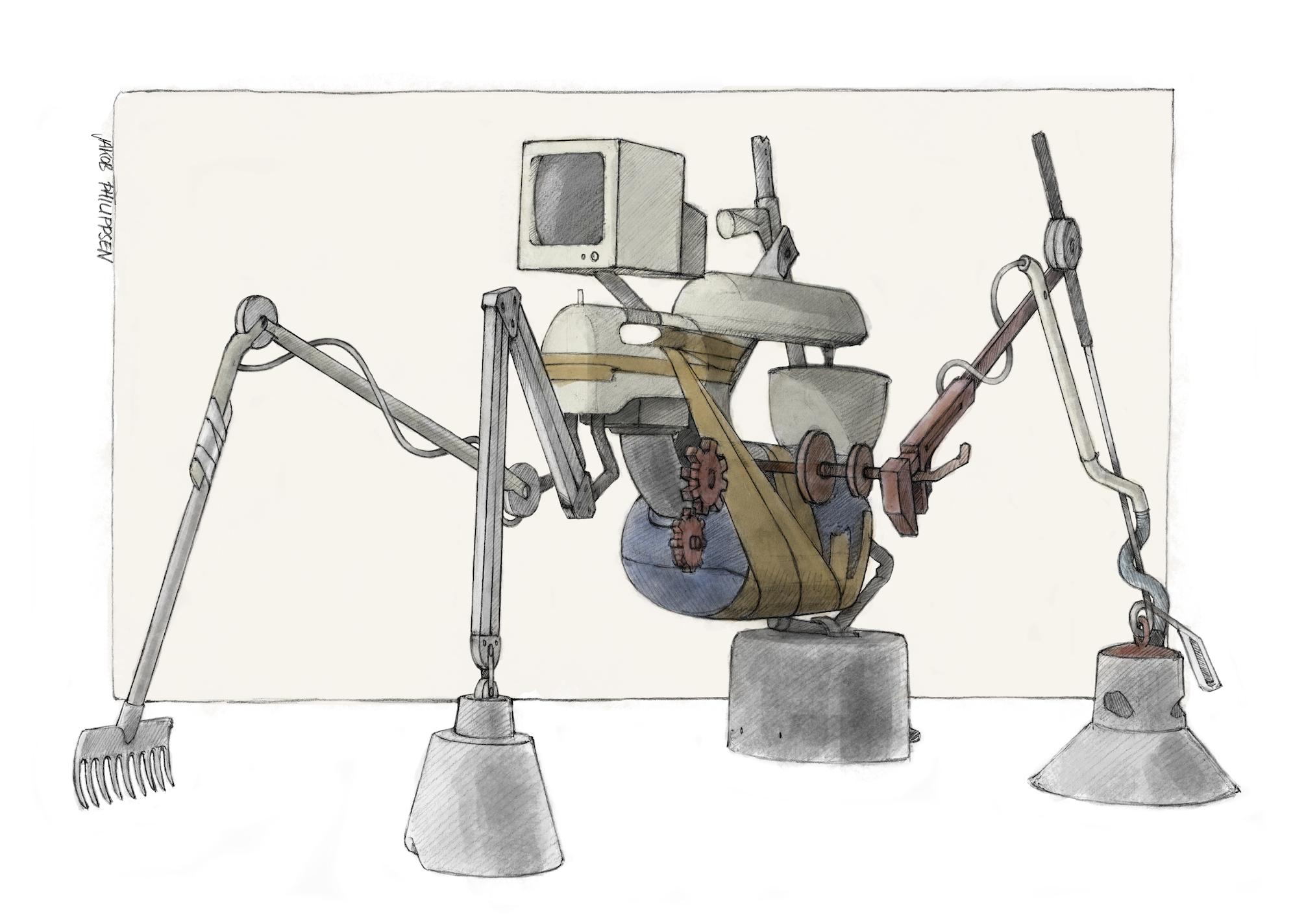 Kurt Murks und die Schrottroboter